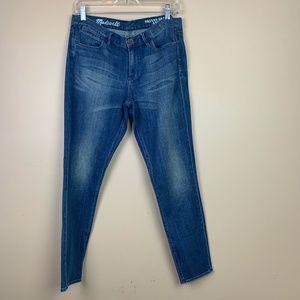 💜 Madewell Skinny Skinny Ankle Blue Jeans 30